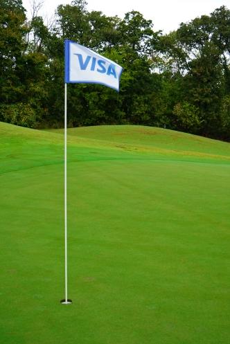 Visa - Hole Sponsor